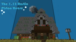 The 1.13 Rustic Piston House Minecraft Map & Project