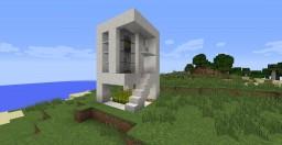 mini modern house Minecraft Map & Project