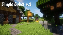 Simple Cubes! - [3D Models & Specular Reflections] 1.13 Mobs Added Minecraft Texture Pack