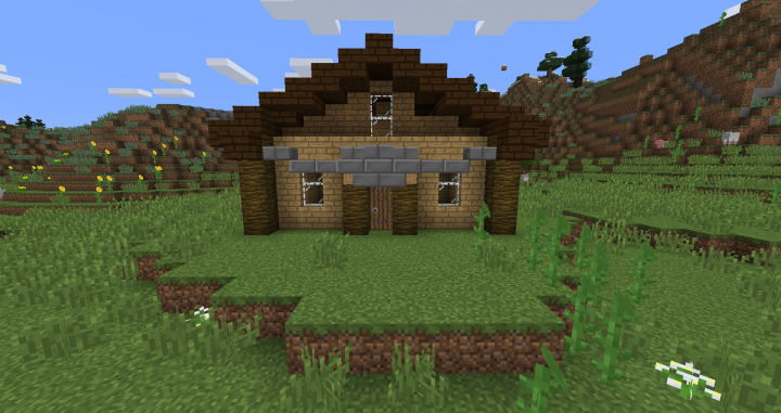 This is how a simple house looks like