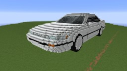 Nissan Silvia (S13) Minecraft Map & Project