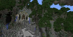Menegroth - The Silmarillion Minecraft Map & Project