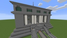 Train Station Modeled After Grand Central Terminal at 0, 0 Minecraft Map & Project