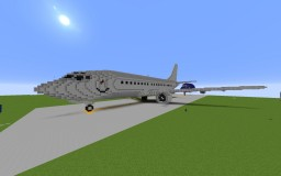 Boeing 737-500 Minecraft Map & Project