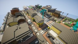 An Island Town Minecraft Map & Project