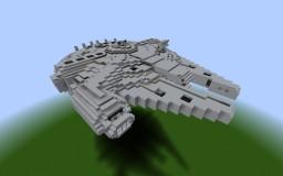 Millenium Falcon [Full Interior] Minecraft Map & Project