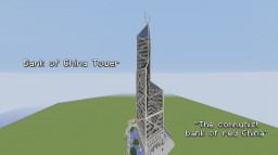 Skyscraper - Bank of China Tower (Hong Kong) 中銀大廈 Minecraft
