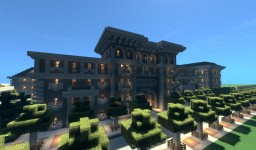 Stalinist quarter Minecraft Map & Project