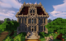 Mini-Mansion Minecraft Map & Project