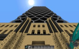 Skyscraper Contest Entry - The Hearst Tower (NYC) Attempt 1 Minecraft