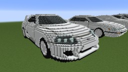 Toyota Supra Minecraft Map & Project