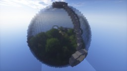 Within Glass (Sky Survival) Minecraft Map & Project