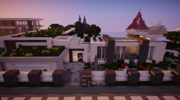 Updated Modern House by ItsZel Minecraft
