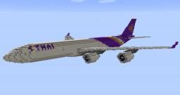 F'n'A Gaming Airbus A340-500 Thai Airways Minecraft