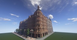 classic european city block +download(mods required) Minecraft Map & Project