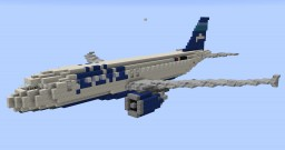 F'n'A Gaming Airbus A320 JetBlue Minecraft Map & Project