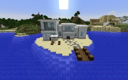 a smol house Minecraft Map & Project