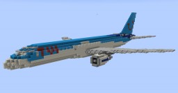 F'n'A Gaming Boeing 757-200 TUI UK(Thomson Airways) Minecraft Map & Project