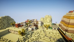 """Fortnite """"Desert Town"""" Minecraft Map & Project"""