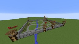 Big Medieval Castle Minecraft Map & Project