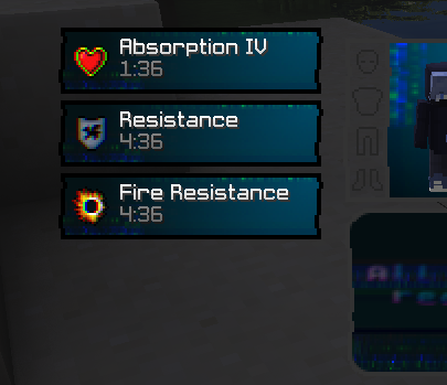 Effects will have glitch 3D aka blue and red