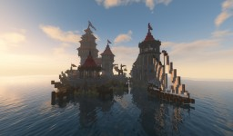 Little medieval fortress Minecraft