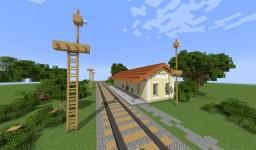 Estación de Nejapa Minecraft Map & Project
