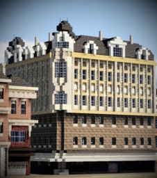 Crispinusstraße 9, Bocholt, Germany Minecraft Map & Project