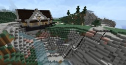 DB Traditional Houses Minecraft Map & Project