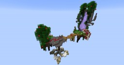 Floating island / Small spawn or Hub Minecraft Map & Project