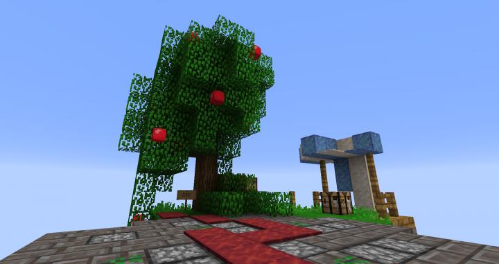 Apple tree view