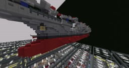U.S.S. Carl Vinson CVN-70 Iron Seas Server Minecraft Map & Project