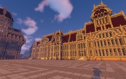 Town House/Mansion Study Minecraft Map & Project