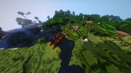 Simply House with a Bridge Minecraft Map & Project