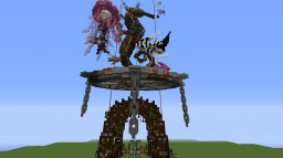Survival/Skyblock Build. Minecraft Map & Project