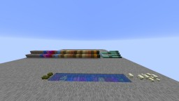 All 1.13 New Block and Peaceful Mob Showcase Minecraft Map & Project