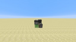 Ultra Compact Flying Machine Minecraft Map & Project