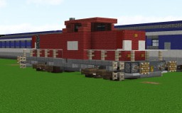 DB 6400 Diesel Locomotive Minecraft Map & Project