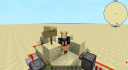 Redstone++ mod horizontal 2x2 Piston door/ base door Minecraft Map & Project