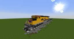 Train Minecraft Map & Project