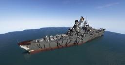 [fictional] FGS Tirpitz Minecraft Map & Project