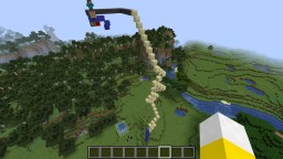 The Dunk Tank ------ A small Rube Goldberg machine Minecraft Map & Project