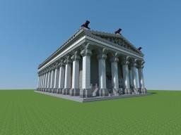 Roman Domus - Prebuilt Main Base Minecraft Map & Project