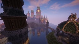 Arcanum Collage | Magic Survival Server Minecraft Map & Project