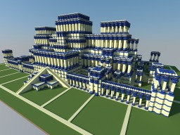 The Hanging Gardens of Babylon Minecraft Map & Project