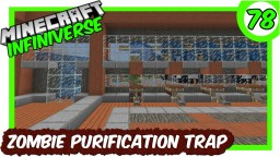 """Zombie Villager Purification Trap"" [78] Minecraft Bedrock Infiniverse Minecraft Map & Project"