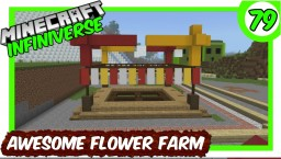 """Awesome New Flower Farm"" [79] Minecraft Bedrock Infiniverse Minecraft Map & Project"