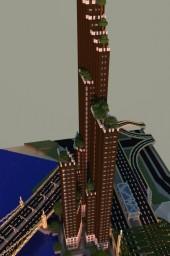 Woodland Towers Minecraft