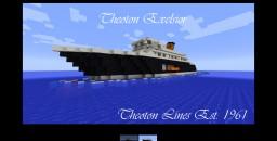 Theoton Fleet (plus two new Cruise Ships) Minecraft Blog Post