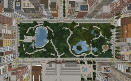 Central Park Newtown Minecraft Map & Project